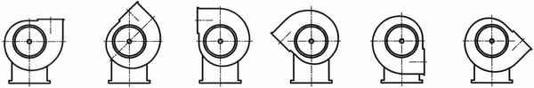 Вентиляторы ВЦ 14-46 левого вращения
